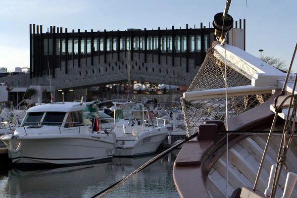 Bateaux dans le port de Carnon