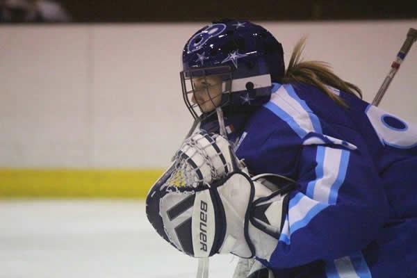 Charlotte Cagigos, championne melgorienne de hockey sur glace