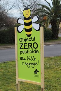 Abeille Zero pesticide Mauguio Carnon